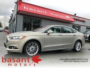 2016 Ford Fusion Low KMs, Leather, Heated Seats!!