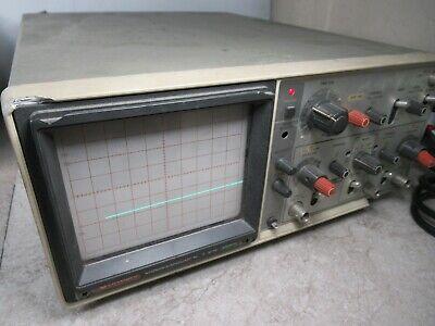 Hitachi V-212 Analog Oscilloscope 20mhz Et 305 2-channel 3631i