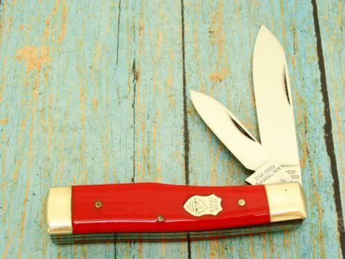 VINTAGE BEAR CREEK KINGSPORT TN RED GUNSTOCK JACK POCKET KNIFE TAYLOR KNIVES