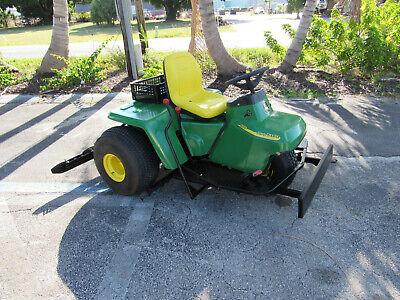 1200a Sand Trap Rake John Deere Front Plow - Infield Groomer Center Scarifier