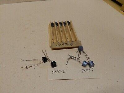 Ge Vintage Transistor Lot 2n337 2 2n526 2 Jx4c610 5 Nos