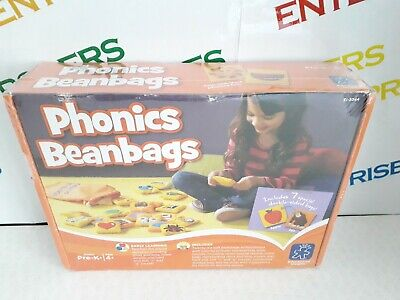 Educational Insights Learning Phonics Bean Bags NEW & SEALED Box creased