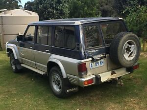 1992 Nissan Patrol Wagon Franklin Huon Valley Preview