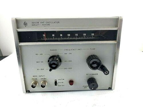 HP HEWLETT PACKARD 3200B VHF OSCILLATOR