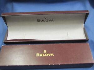 BULOVA-SCATOLA-PER-OROLOGIO-LUNGA-ORIGINALE