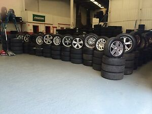 WIDE RANGE OF USED MAG WHEELS & USED TYRES FROM $30 Punchbowl Canterbury Area Preview