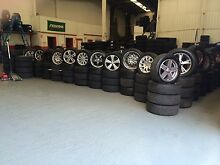 WIDE RANGE OF USED MAG WHEELS & USED TYRES FROM $30 Punchbowl 2196 Canterbury Area Preview