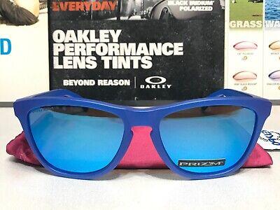 Oakley Frogskins Xray Blue w/ Prizm Sapphire SKU# 9013-C755 Spectrum Collection