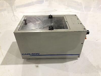 Cem Carlson Engineering Screwfeed C-50 Vibratory Bowl Screw Feeder System 2002