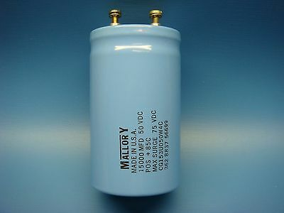 1 Mallory Cg153u050w4c 15000uf 50v 85 Cg Series Radial Can Aluminum Capacitor
