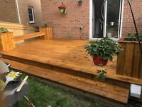 Deck and Fence Staining and Refinishing
