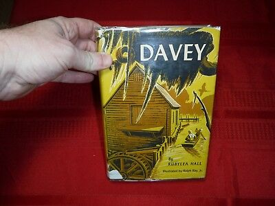 Davey- Rubylea Hall, Illustrated by Ralph Ray, Jr., 1951, 1st (Ralph Ray Jr)