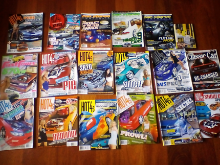 Car magazine's hot4s fast fours car stereo australia dvd