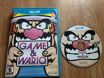 Game & Wario (Nintendo Wii U, 2013) Tested Works! Fast Shipping