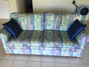 2 X Sofa Beds with Innerspring Mattresses Top of Range Mint Condition Chapel Hill Brisbane North West Preview