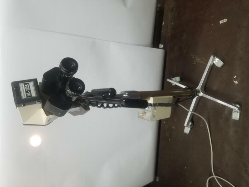 MedGyn AL-102S Binocular Colposcope w/ Wheeled Stand