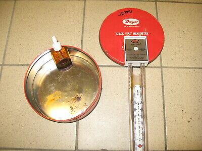 Dwyer 1211-24 Slack Tube Manometer New