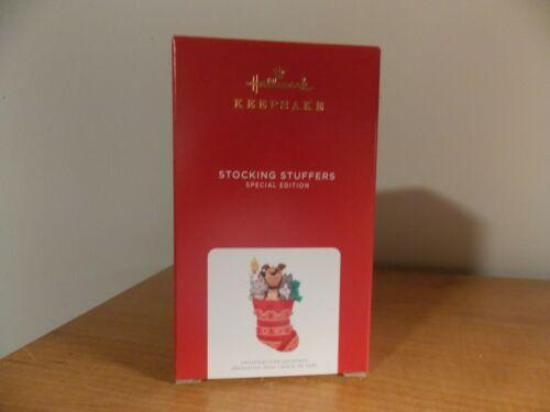 2021 STOCKING STUFFERS Red Repaint  Hallmark Keepsake Ornament  Special Edition