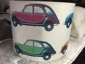 Unique Lamp shade - Vintage Cars - Bright colours Bray Park Pine Rivers Area Preview