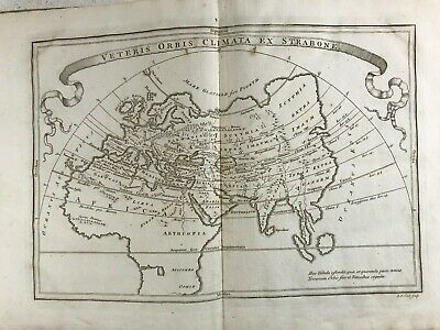Maps Of Ancient Geography from Christoph Cellarius 33 Copper Plates 1809