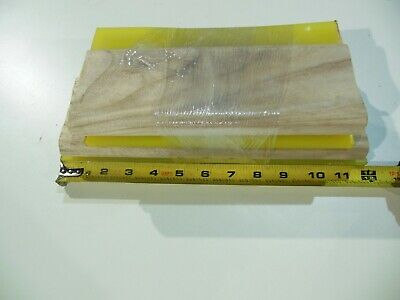 4 Pack Of Economic Squeegees 70 Duro Blades For Screen Printing Ink - Misc Sizes