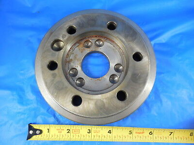 Lathe Chuck Adapter Plate Harding South Bend Haas You Tell Me Taper Mount