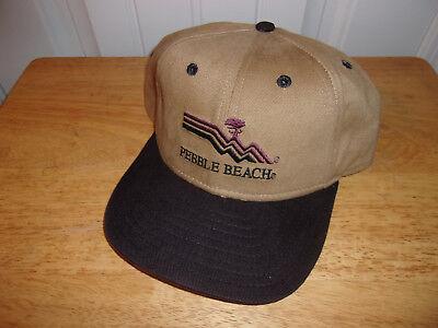 d102c531c85 Pebble Beach Golf Links Hat Cap NWOT Free Shipping!