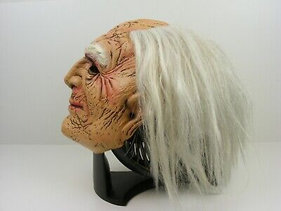 2009 Take One Scary Old Man Latex Mask Halloween Prop