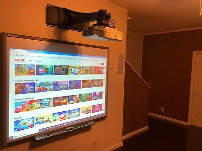 Smartboard Sb-660 And Epson Brightlink 475w With Extras 90 Days Warranty