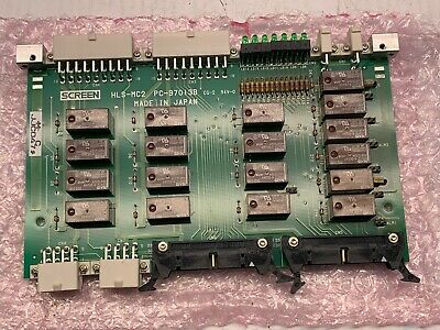 Dns Dainippon Screen Hls-mc2 Relay Board Pcb Pc-97013b