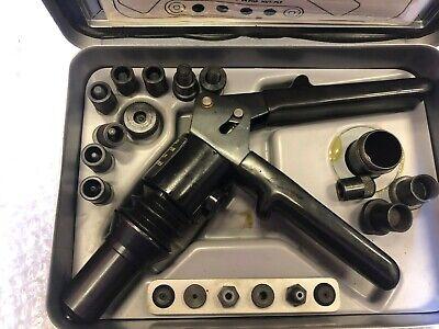 Blind Fastener Rivetriveter Tool Gun Set New Fsi D-100-mil-1