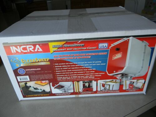 INCRA Clean Sweep Dust Collection Cabinet
