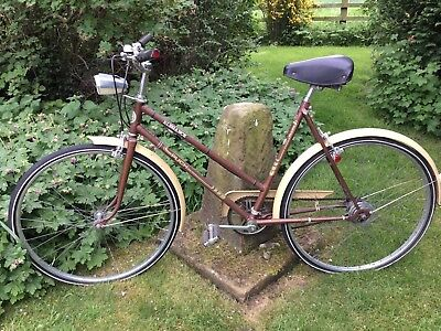 Puch Elegance ladies road bike Vintage retro vgc yellow