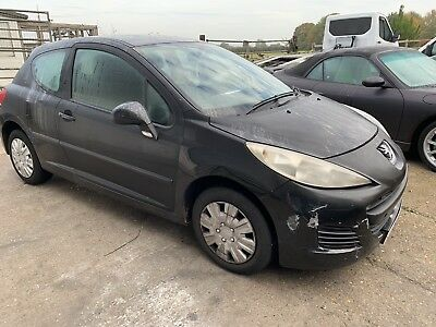Peugeot 207  2010 Black 3 Dr BREAKING ALL PARTS AVAILABLE