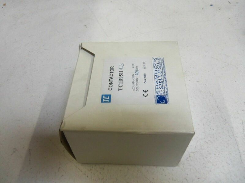 SHAMROCK CONTROLS TC1D9511L6 CONTACTOR 208V *NEW IN BOX*