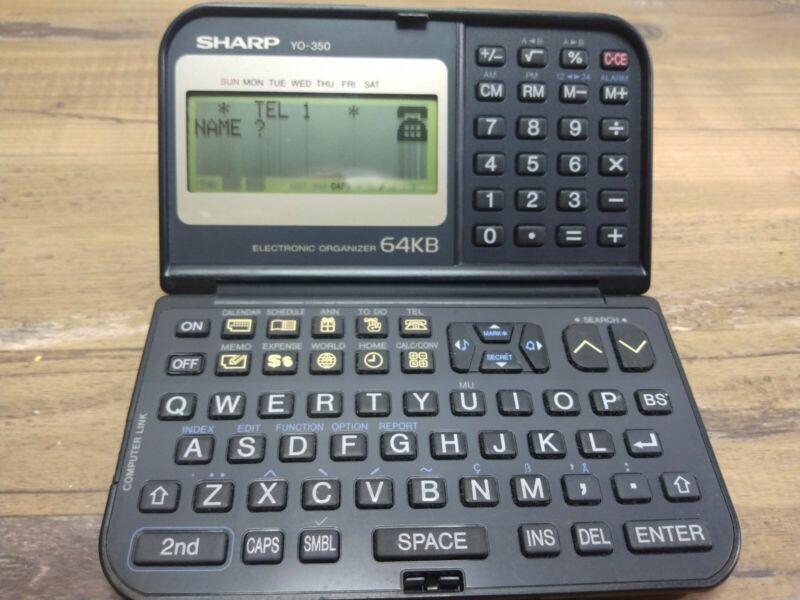Sharp YO-350 64kb Electronic Organizer