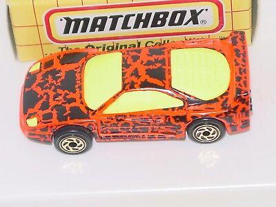 MATCHBOX  YELLOW BOX #24 FERRARI F-40
