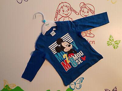 Langarmshirt Baby Mickey Mouse 68 80 86 92