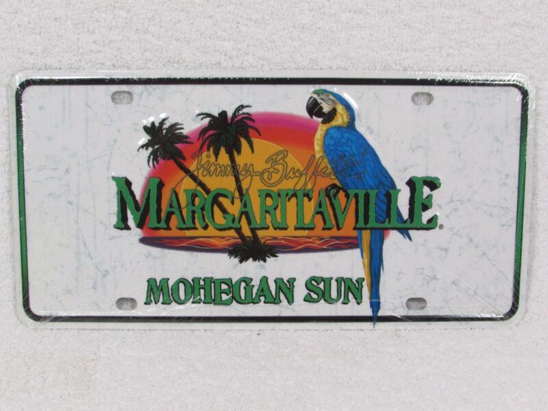 GENUINE Jimmy Buffett Margaritaville Novelty License Plate NEW MOHEGAN SUN