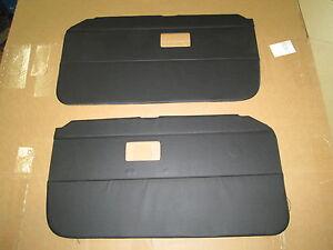 New Door Panel Set For Mgb Roadster And Gt 1968 1969 Black