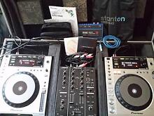 Pioneer DJ set , carry case . For Sale. Botany Botany Bay Area Preview