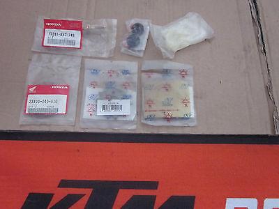 Honda CR 80 85 Teile Ritzel Kettenrad 13 14 15 NEU Bremse Luftfilterkasten