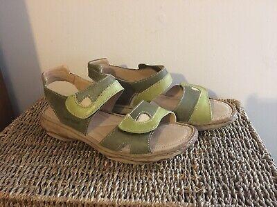 josef seibel 40 Size 6 Pistachio Comfort Sandal