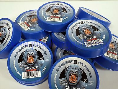 Blue Monster Tape - Blue Ptfe Teflon Thread Tape 12 X 1429 - Single Roll