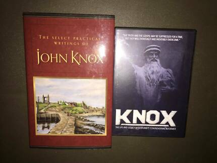 John KNOX Scotland's Reformer R1 DVD *&* Collected Writings