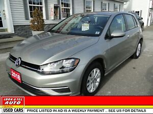 2018 Volkswagen Golf  you're approved  $77.93  a week tax inc. T