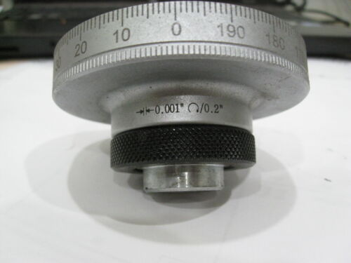 BRIDGEPORT MILL PART, milling machine DIAL 200 GRADUATIONS 2060084 Y Axis
