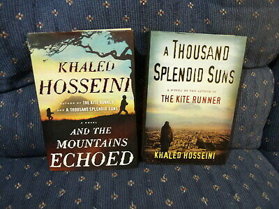 2ct Lot HC Khaled Hosseini-And The Mountains Echoed*A Thousand Splendid Suns