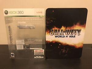 Call Of Duty World At War Collector Edition & Ghost SteelBook