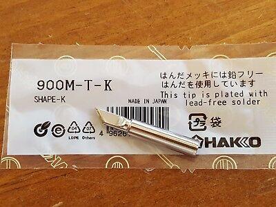 Soldering Solder Leader-free Solder Iron Tip For Hakko 936 900m-t-k Us Ship